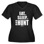 Eat, Sleep, Hog Hunt Plus Size T-Shirt