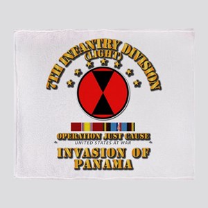 Just Cause - 7th Infantry Division w Throw Blanket