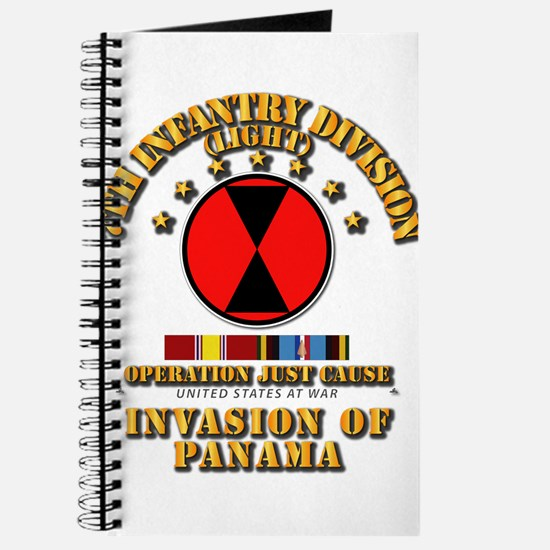 Just Cause - 7th Infantry Division w Svc R Journal