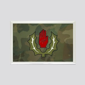 Red hand & thistle camo Magnets