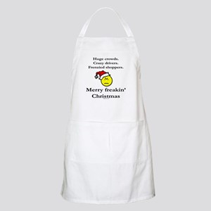 Merry freakin' christmas Apron