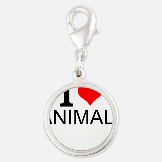 I Love Animals Charms