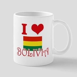 I Love Bolivia Mugs