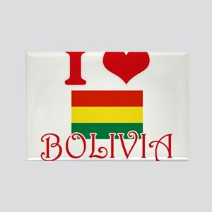 I Love Bolivia Magnets