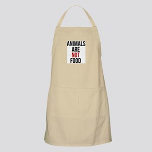 Animals Are Not Food Apron