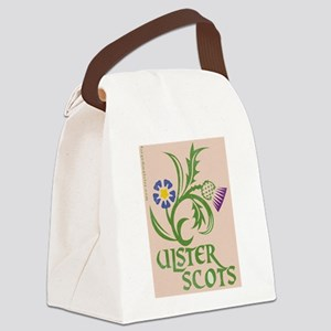 Ulster Scots flax & thistle Canvas Lunch Bag
