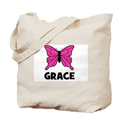 Butterfly - Grace Tote Bag