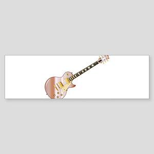 Pink Solid Blues Bumper Sticker