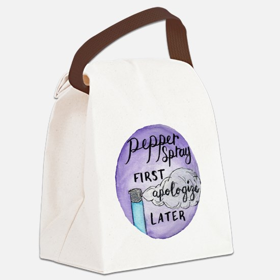 Funny Podcast Canvas Lunch Bag