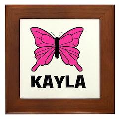 Butterfly - Kayla Framed Tile
