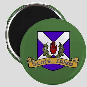 Scots-Irish crest Magnets