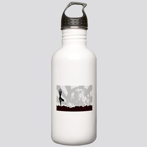 Tree Asana Practice Stainless Water Bottle 1.0L