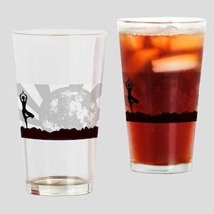 Tree Asana Practice Drinking Glass