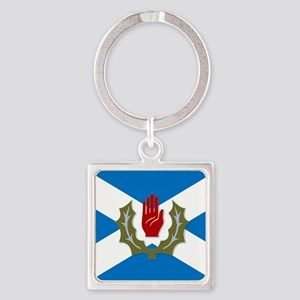 Ulster-Scots / Scots-Irish flag Keychains