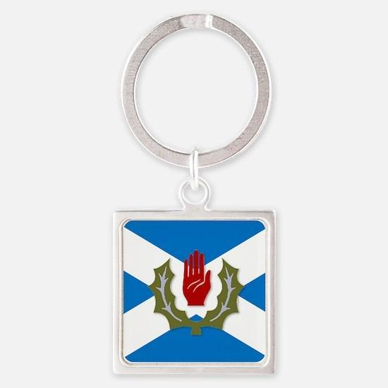 Ulster-Scots / Scots-Irish flag Keychains