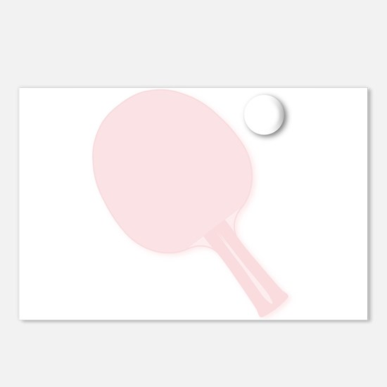 Ping Pong Background Postcards (Package of 8)