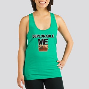 Deplorable Me Racerback Tank Top
