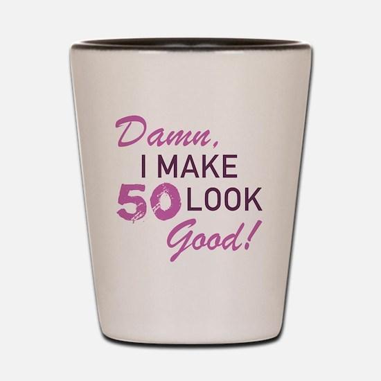 Cute Fabulous 50 Shot Glass
