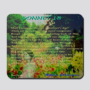 """Sonnets 18 """"Shall I Compare Thee"""" Mousep"""