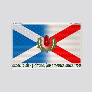 Scots-Irish - fighting for america Magnets
