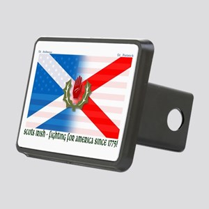 Scots-Irish - fighting for Rectangular Hitch Cover