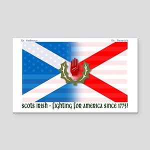 Scots-Irish - fighting for am Rectangle Car Magnet