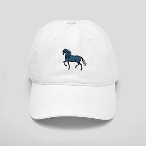 Baroque Horse Woodblock Cap