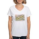 Star Dancer Women's V-Neck T-Shirt