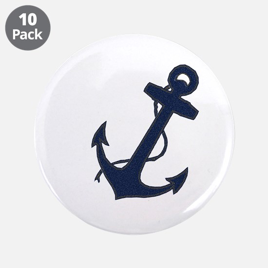 "Anchored 3.5"" Button (10 pack)"
