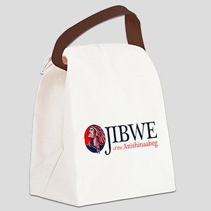 Ojibwe Canvas Lunch Bag