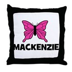 Butterly - Mackenzie Throw Pillow