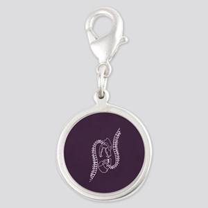 Penny Dreadful Tarot Silver Round Charm