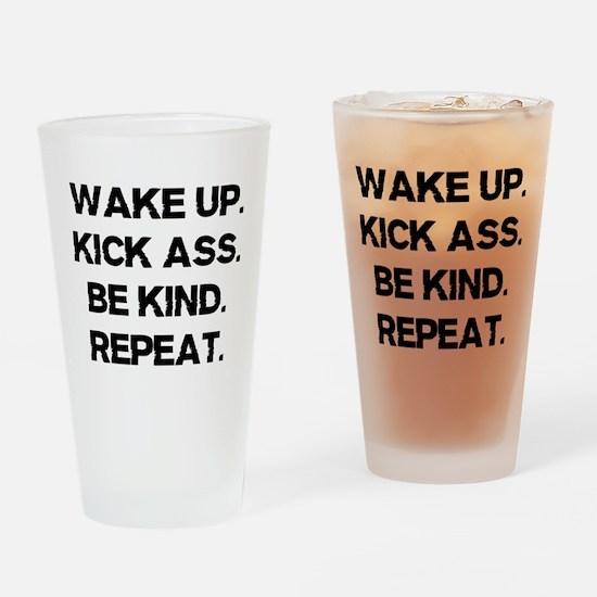 WKBR Drinking Glass