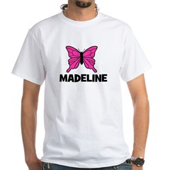 Butterfly - Madeline White T-Shirt