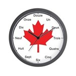 French Canadian Wall Clock