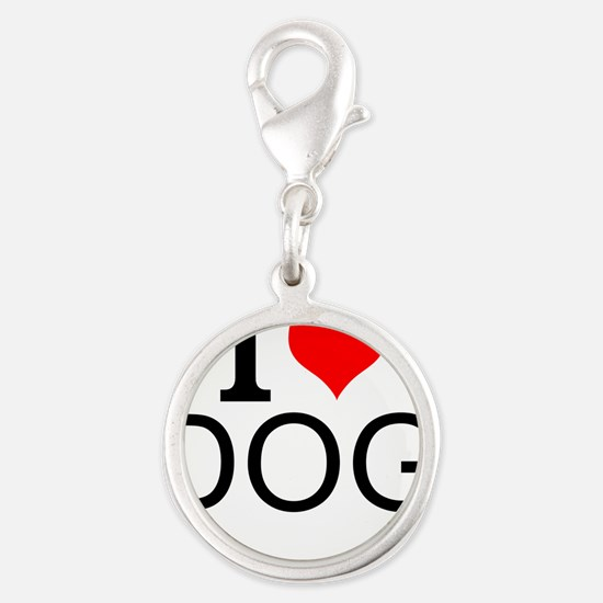 I Love Dogs Charms