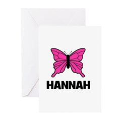 Butterfly - Hannah Greeting Cards (Pk of 10)