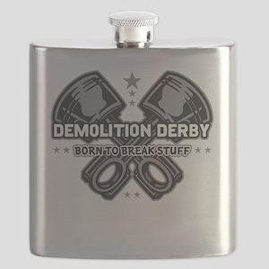 demolition derby born to break Flask