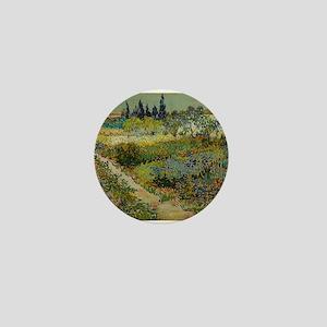 Garden at Arles - Van Gogh Mini Button