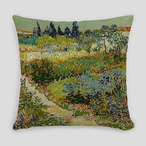 Garden at Arles - Van Gogh Everyday Pillow