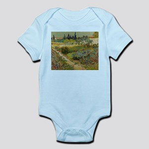 Garden at Arles - Van Gogh Baby Light Bodysuit