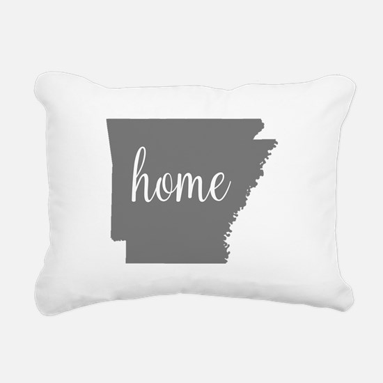 Arkansas Home Rectangular Canvas Pillow