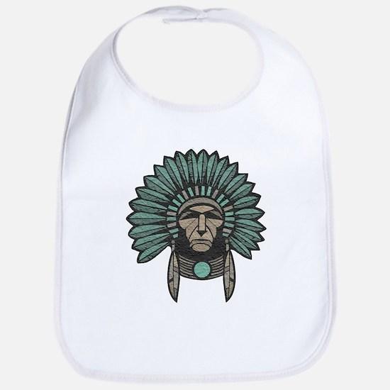 Native American Chief Bib