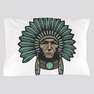 Native American Chief Pillow Case