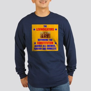 LEVS DEFENDING CONSTITUTION (dark shirts) Long Sle