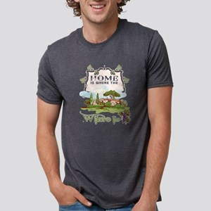 Home IS Where The Wine Is T Shirt T-Shirt