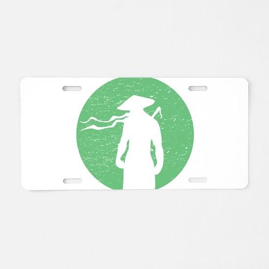 Monk Aluminum License Plate