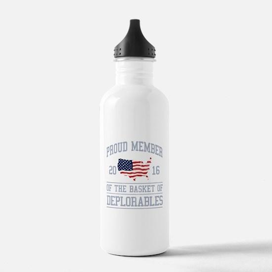 Basket of Deplorables Water Bottle
