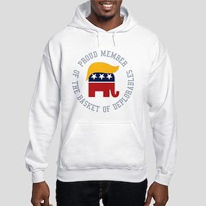 Basket of Deplorables Hooded Sweatshirt