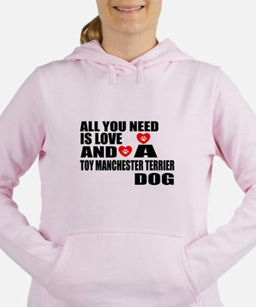 All You Need Is Love Toy Women's Hooded Sweatshirt